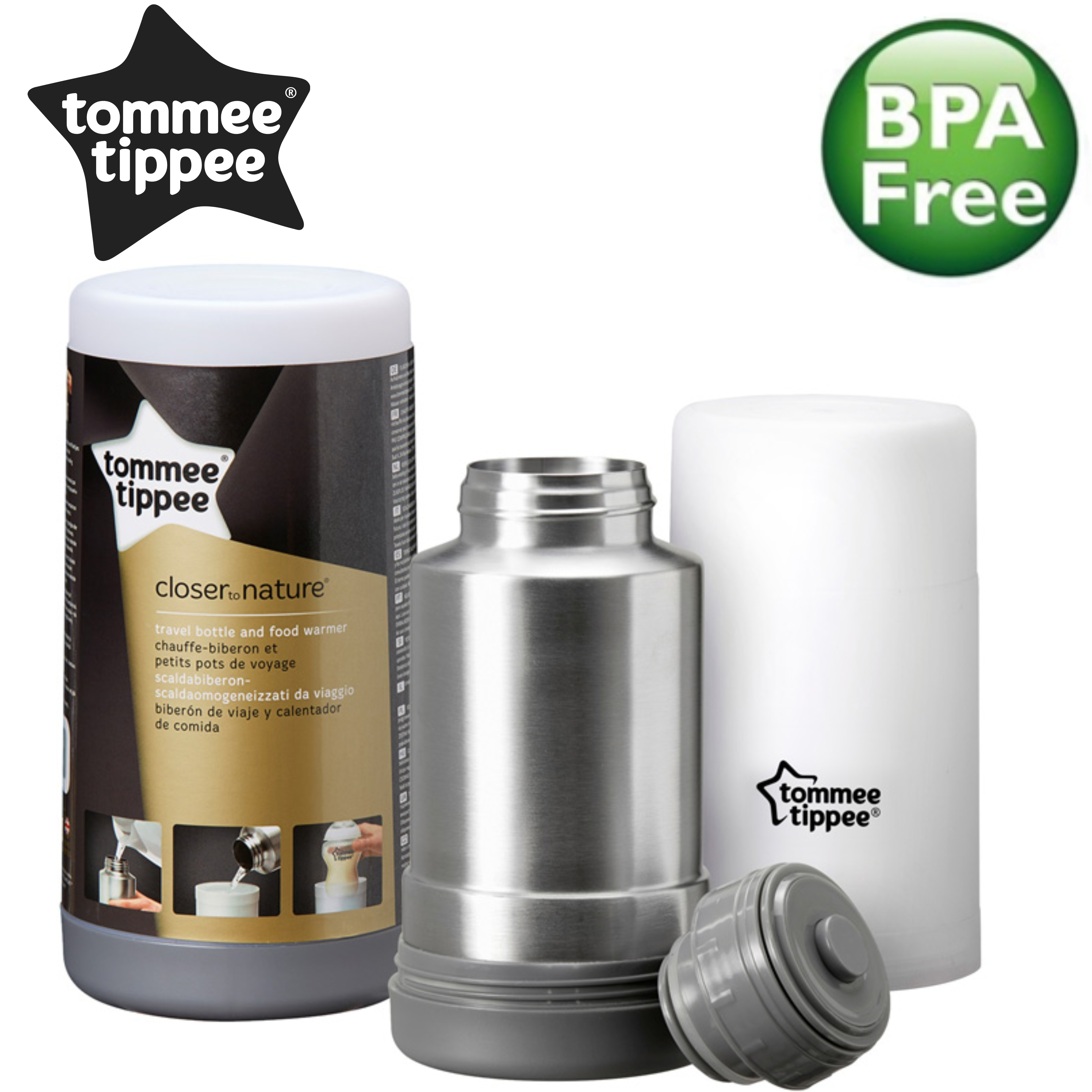Tommee Tippee Closer to Nature Travel Bottle/Food Warmer   Baby Milk Flash Warmer