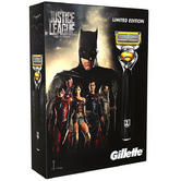 Gillette Fusion ProShield Men's Razor Gift Set | 3 Blade Refills | Justice League Pack