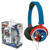 Lexibook HP010AV Traveller Avenger Stereo Headphones|Foldable|Volume Limiter|NEW