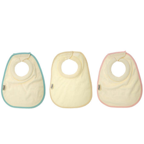 Tommee Tippee Closer to Nature Milk Feeding Bibs 2Pk | Absorbent Dribble Catcher | New Thumbnail 2