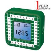 Lexibook RL300SC Multi-Function Timer For Scrabble Clock|Alarm|Temperature|Green