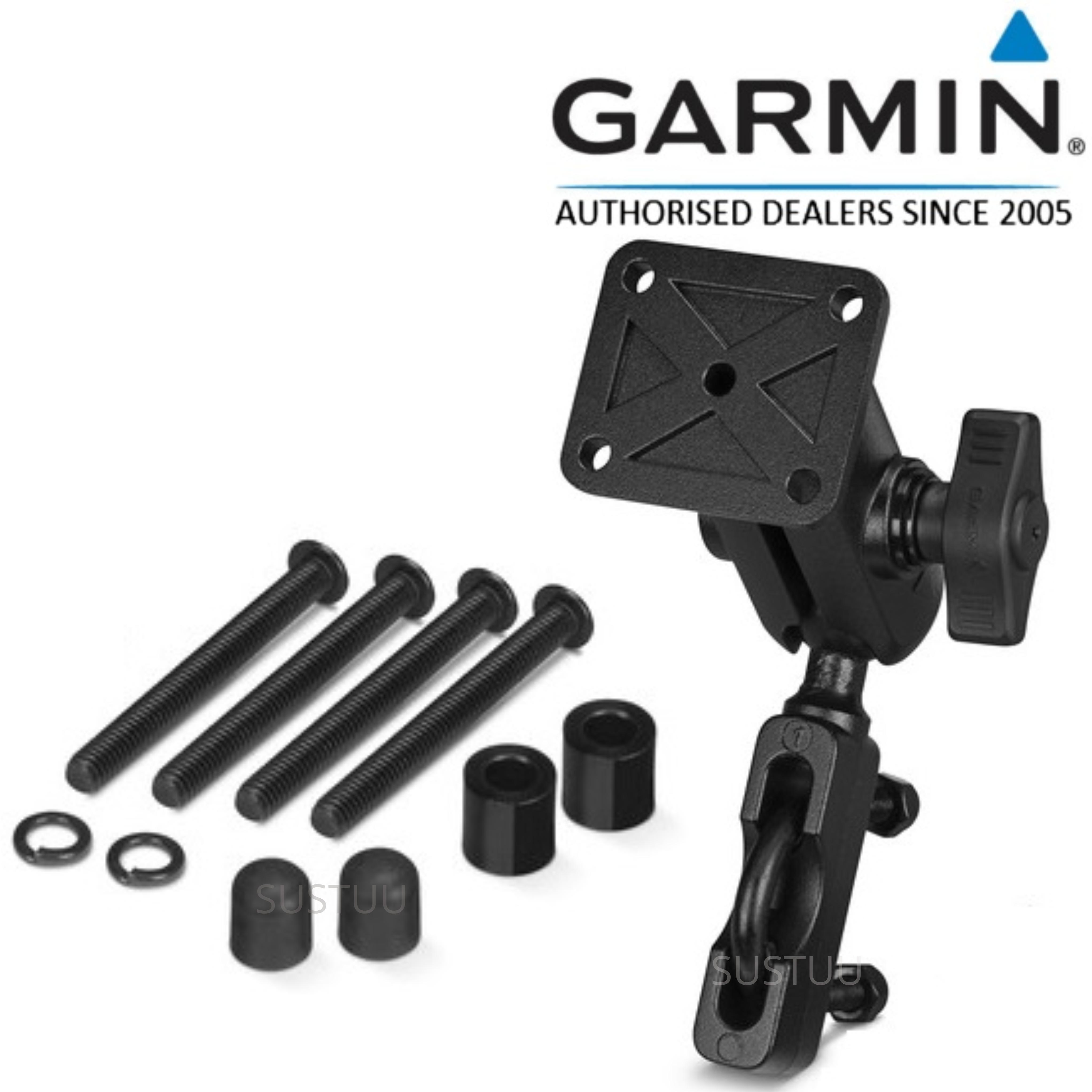 Garmin Motorcycle Handlebar Mount Kit   For GPSMAP276Cx-Montana  610/680/680t   Black