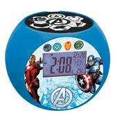 Lexibook RL975AV Avengers Radio with Projector Alarm Clock|Snooze|Calender|Temp.