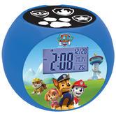 Lexibook RL975PA Paw Patrol Radio With Projector Alarm Clock|Snooze|Calender|NEW
