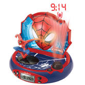 Lexibook RP500SP Spider-Man Projector Alarm Clock|FM Radio|Digital|LCD Screen