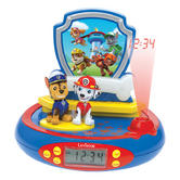 Lexibook RP500PA Paw Patrol Projector Alarm Clock|FM Radio|Digital LCD Screen