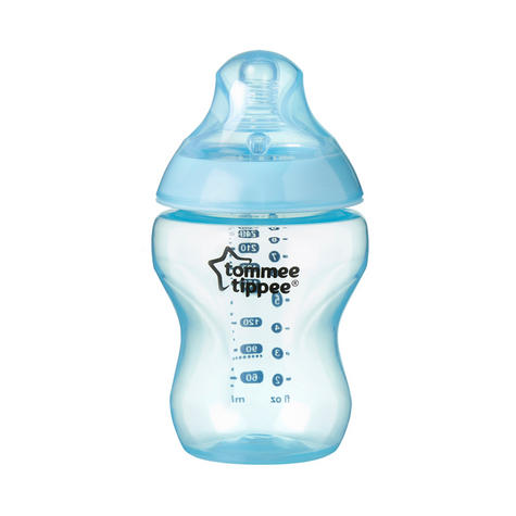 Tommee Tippee Closer to Nature Colour My World Bottle Blue 260ml 3Pk | Anti Colic | New Thumbnail 4