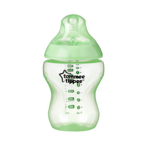 Tommee Tippee Closer to Nature Colour My World Bottle Blue 260ml 3Pk | Anti Colic | New Thumbnail 5