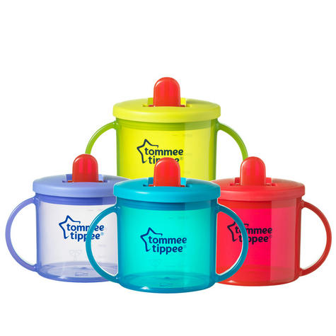 Tommee Tippee Essentials Leak-Proof Spout First Cup | Assorted Colors | BPA Free | 4m+ Thumbnail 2