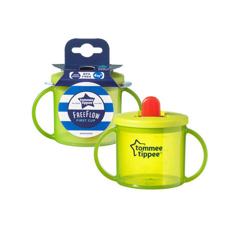 Tommee Tippee Essentials Leak-Proof Spout First Cup | Assorted Colors | BPA Free | 4m+ Thumbnail 7