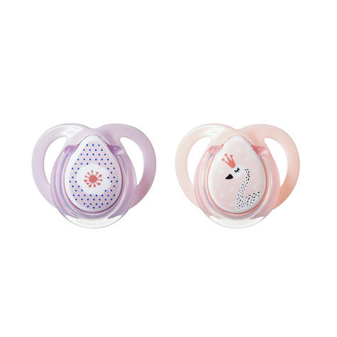Tommee Tippee Closer to Nature Moda Soother 0-6m 2Pk | BPA-free | Orthodontic Shape | New Thumbnail 8