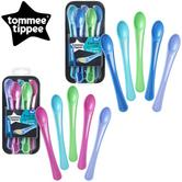 Tommee Tippee Explora Soft Tip Weaning Spoons 5Pk | Aassorted Colours | BPA-free | 4m+