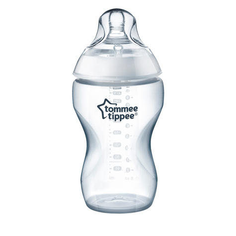Tommee Tippee Closer to Nature Baby Feeding Bottle 340ml 2pk | Soft Silicone Teat | New Thumbnail 5