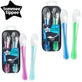 Tommee Tippee Explora First Easy Weaning Baby Spoons 2Pk | Soft & Gentle | BPA free