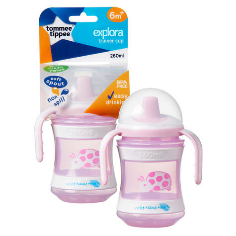 Tommee Tippee Discovera Toddler Trainer Cup 6m+ | 260ml | Colour & Design Assorted |New Thumbnail 3