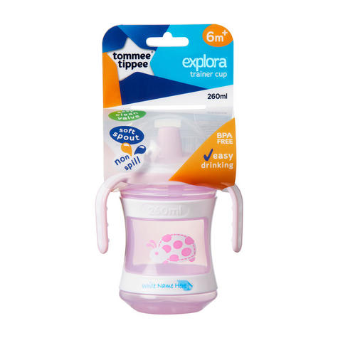 Tommee Tippee Discovera Toddler Trainer Cup 6m+ | 260ml | Colour & Design Assorted |New Thumbnail 5