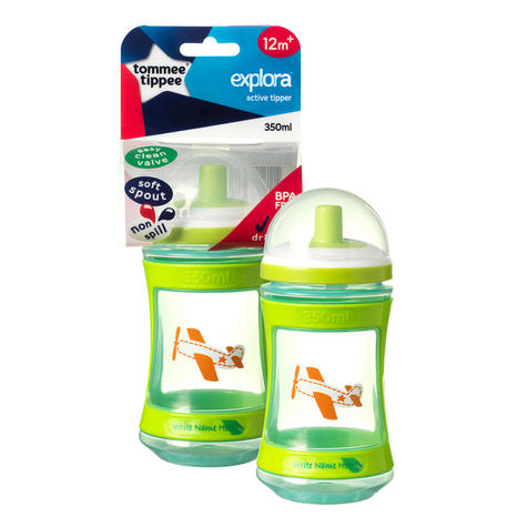 Tommee Tippee Discovera Active Tipper 12m+ | Choice of Design & Colour | 350ml | New Thumbnail 6