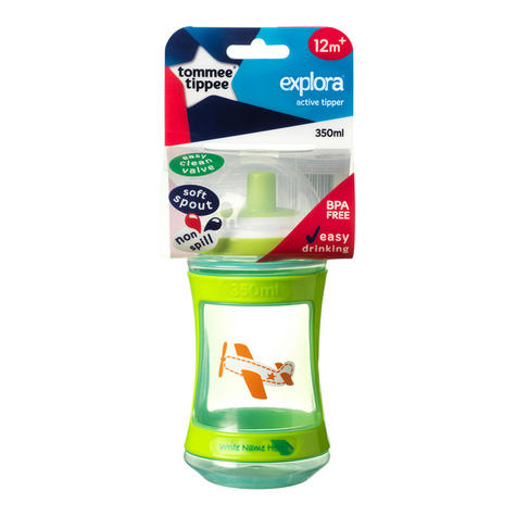 Tommee Tippee Discovera Active Tipper 12m+ | Choice of Design & Colour | 350ml | New Thumbnail 8