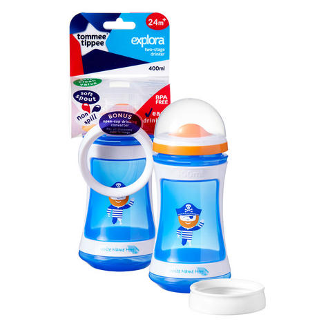 Tommee Tippee Discovera 2 Stage Drinker 24m+ | 400ml | Choose Design & Colour | New Thumbnail 6