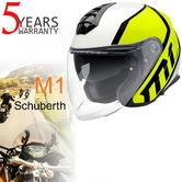 Schuberth R2 Full Face Motorcycle Unisex Helmet|For Sports/Touring|Flux Yellow