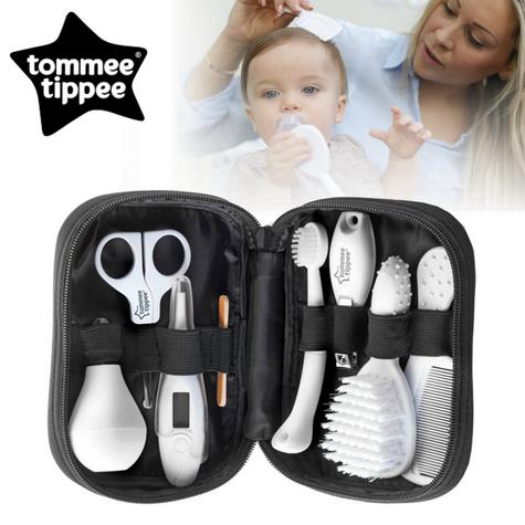 Tommee Tippee Closer to Nature Baby Care Grooming Kit | Thermometer |  Brush | Comb | Nail Clipper | New Thumbnail 1