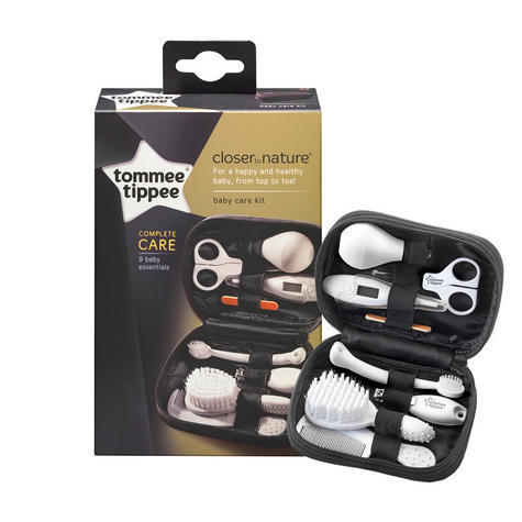 Tommee Tippee Closer to Nature Baby Care Grooming Kit | Thermometer |  Brush | Comb | Nail Clipper | New Thumbnail 2