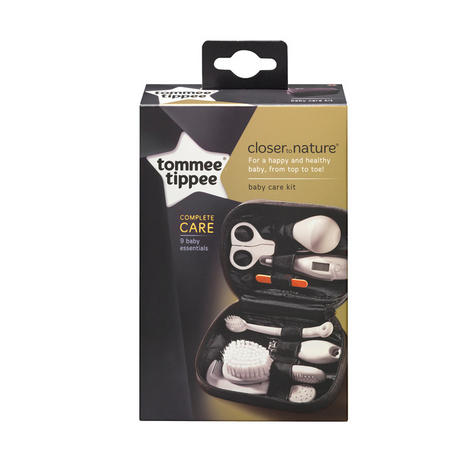 Tommee Tippee Closer to Nature Baby Care Grooming Kit | Thermometer |  Brush | Comb | Nail Clipper | New Thumbnail 3