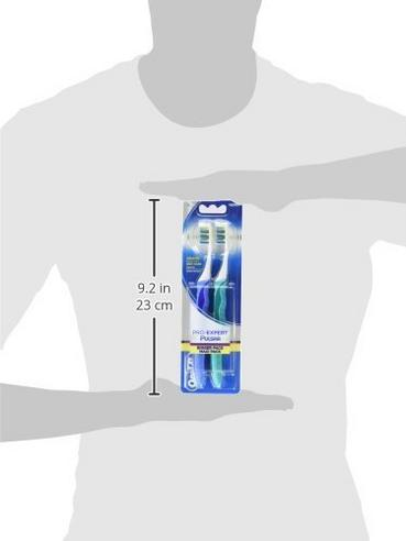 12 X Oral-B Pro-Expert Pulsar 35 Medium Manual Toothbrush Pack | Long Handle | Adult Thumbnail 2
