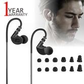 MEE Audio M6G2?In-Ear Headphone?Sports Earphone?Noise-Isolating?Water Res.?Black