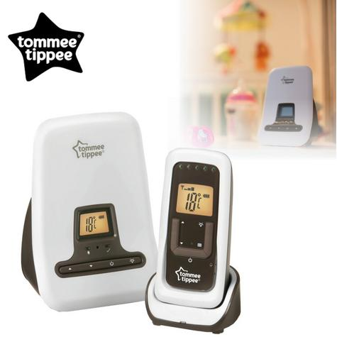 Tommee Tippee Closer to Nature DECT Digital Sound Baby Monitor | Range 300m | New Thumbnail 1