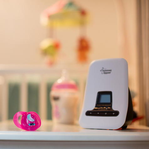 Tommee Tippee Closer to Nature DECT Digital Sound Baby Monitor | Range 300m | New Thumbnail 6