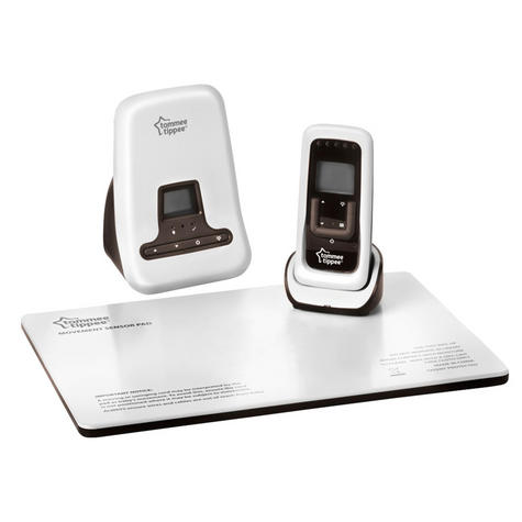 Tommee Tippee DECT Digital Sound & Baby Movement Monitor | Sensor Pad | Two-way | 300m | New Thumbnail 3
