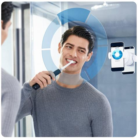 Oral-B Genius Pro 9000 CrossAction Electric Rechargeable Toothbrush | LED SmartRing Thumbnail 6