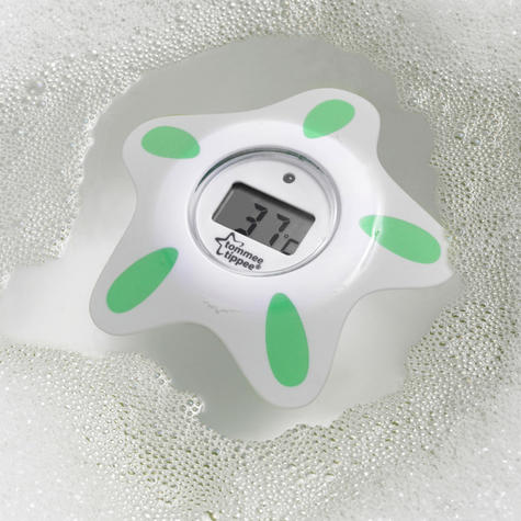 Tommee Tippee Closer to Nature Bath & Room Thermometer | Floats in water | Bath Toy | New Thumbnail 4