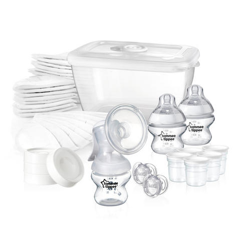 Tommee Tippee Closer to Nature Breast Feeding Kit | Soft Silicon Shell | BPA Free Thumbnail 3