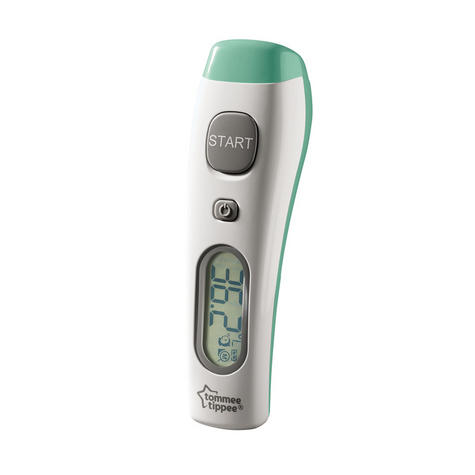 Tommee Tippee No Touch Forehead Thermometer | Memory Function | Fast | Fever Indicator | New Thumbnail 4