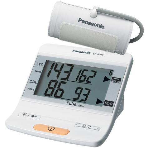 Panasonic Upper Arm Electric Blood Pressure Monitor + Cuff | 90 Memory Measurement Thumbnail 1
