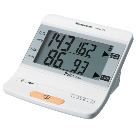 Panasonic Upper Arm Electric Blood Pressure Monitor + Cuff | 90 Memory Measurement Thumbnail 2