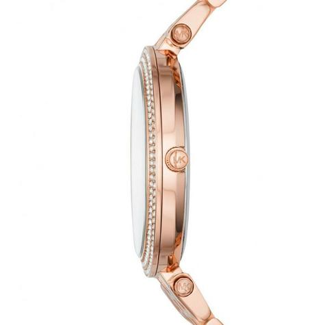Michael Kors Darci Ladies Watch|Black Dial|Rose Gold Tone|Daimond Accent|MK3402 Thumbnail 3