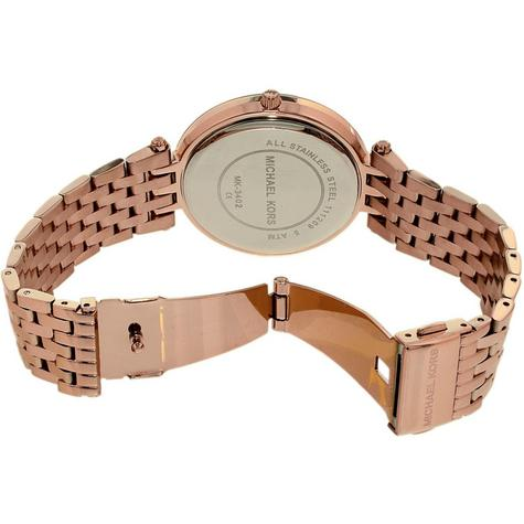Michael Kors Darci Ladies Watch|Black Dial|Rose Gold Tone|Daimond Accent|MK3402 Thumbnail 5