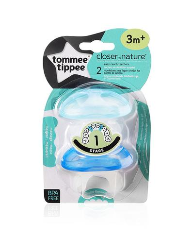 Tommee Tippee Teether Stage 1 | Massaging/Cooling Surface+Teething Gel | Pack Of 2 Thumbnail 6