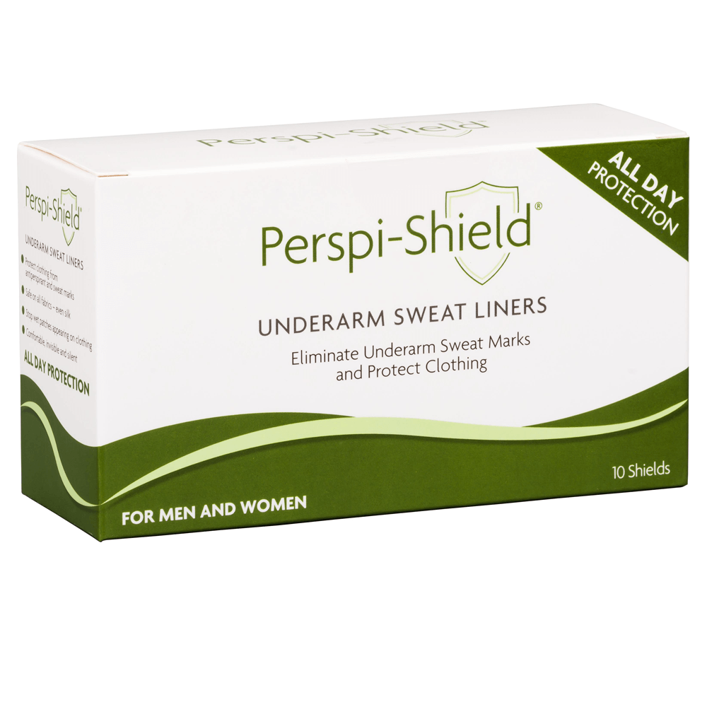Perspi Shield Ultra UnderArm Sweat Liners (Pack of 10) | Comfortable & Invisible