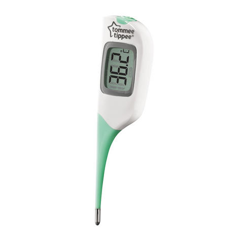 Tommee Tippee 2 in 1 Thermometer | Under the tongue or armpit | Waterproof?Fast | New Thumbnail 4