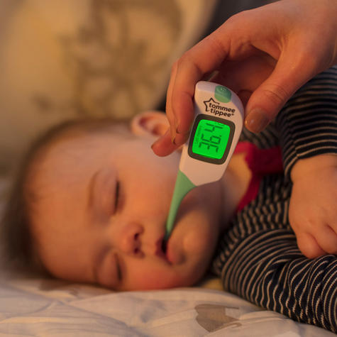 Tommee Tippee 2 in 1 Thermometer | Under the tongue or armpit | Waterproof?Fast | New Thumbnail 5