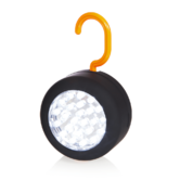 RAC 24 LED Round Work Light | Magnetic Mount | Hanging Hook | Rubberised Finish | HP241