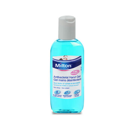 Milton Antibacterial Non Sticky Hand Gel 100ml | Clinically Proven Sterilising | New Thumbnail 2