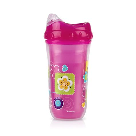 Nuby Insulated Cool Sipper | Toddlers' Cup | Kid's Drinking Container | Beaker | 18m+ Thumbnail 2