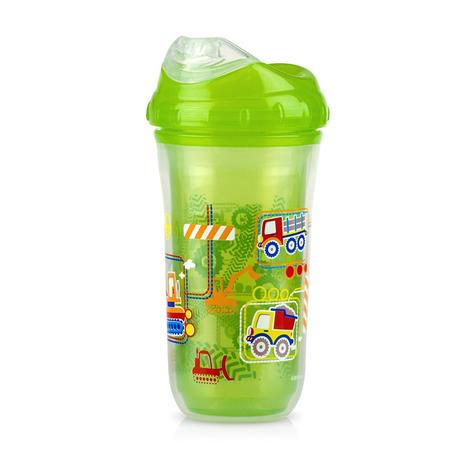 Nuby Insulated Cool Sipper | Toddlers' Cup | Kid's Drinking Container | Beaker | 18m+ Thumbnail 4