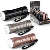 RAC Aluminium 3AAA Torch | 14 LED SpotLight | Wrist Strap | Battery Operated | HP941 NEW