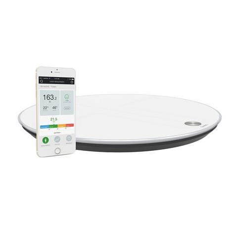 Qardio Base Smart Digital Scale | Full Body Composition | Fitness-BMI-Weight Analyzer Thumbnail 2